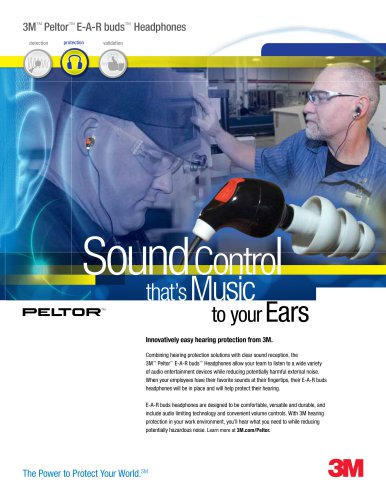 3M™ Peltor™ E-A-R buds™ Headphones