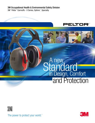 3M Peltor X Series Catalog