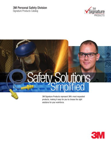 3M? Signature Safety Products Catalog