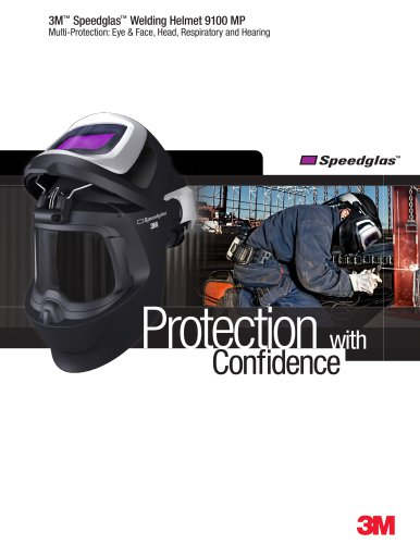 3M Speedglas Welding Helmet 9100MP Brochure