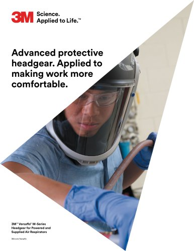 Advanced protective headgear. Applied to making work more comfortable.