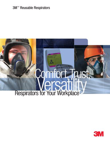 Reusable Respirator Full Line Catalog