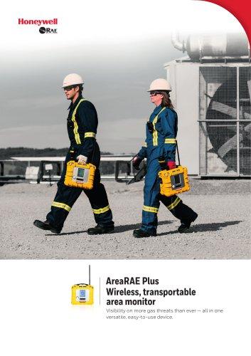 AreaRAE Plus Wireless, transportable area monitor