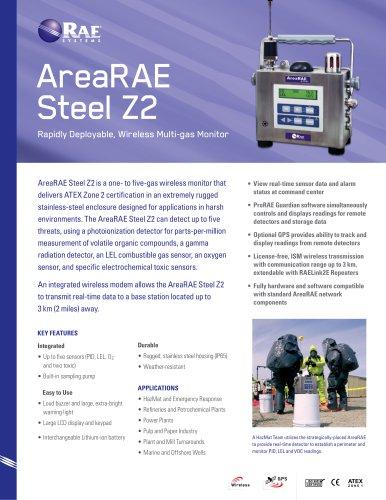 AreaRAE Steel Z2