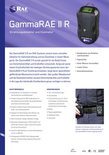 GammaRAE II R