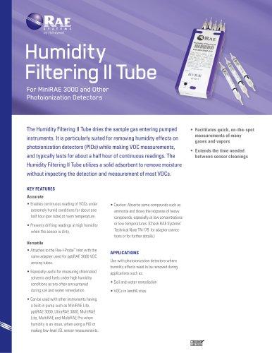 Humidity Filtering II Tube
