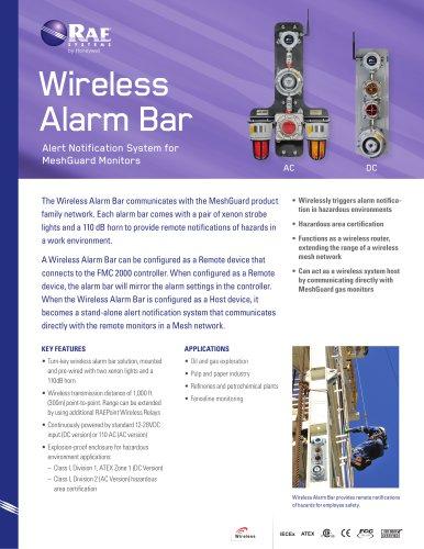 Wireless Alarm Bar