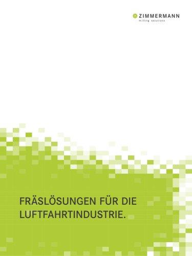 F. Zimmermann Branchenprospekt Luftfahrtindustrie