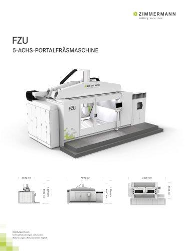 FZU 5-ACHS-PORTALFRÄSMASCHINE