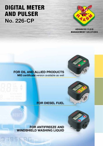 Digital meter and pulser