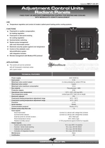 Control unit for actuator in low temperature