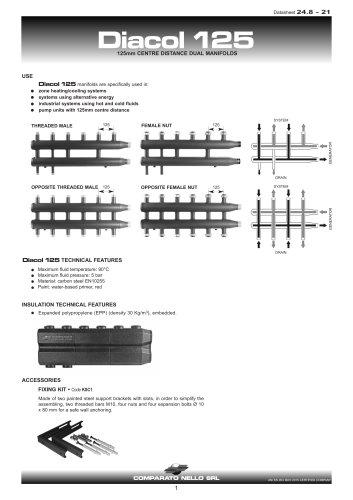 DIACOL manifolds