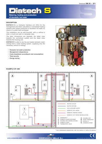 DIATECH S hydraulic interface unit