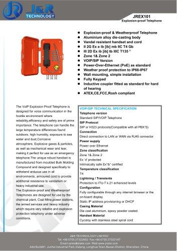 Emergency Telephone Catalogue
