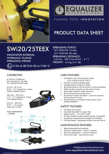 ATEX SWi Flanschspreizer Set mit Pumpe