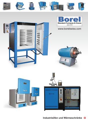 BOREL Swiss  Industrieöfen und Wärmeschränke