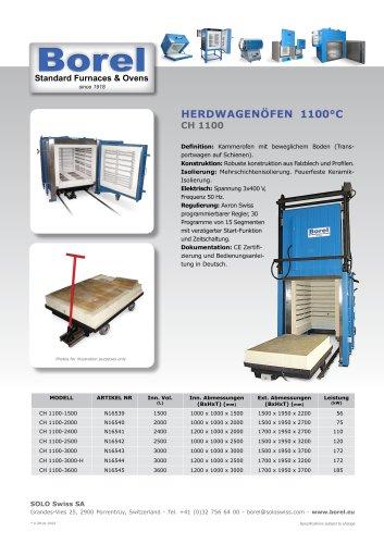 Herdwagenöfen 1100 °C - CH 1100