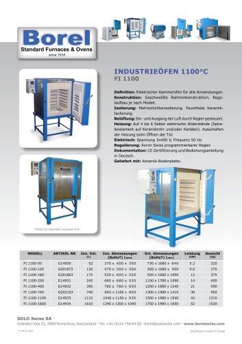 Industrieöfen 1100 °C - FI 1000