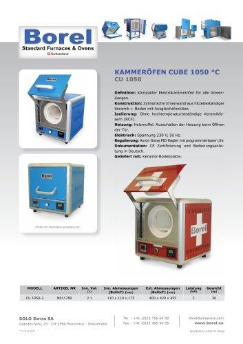 Kammeröfen Cube 1050 °C