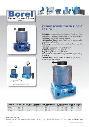 Kleine Schmelzöfen 1100°C - KP 1100