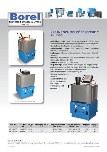 Kleine Schmelzöfen 1350°C - RH 1350