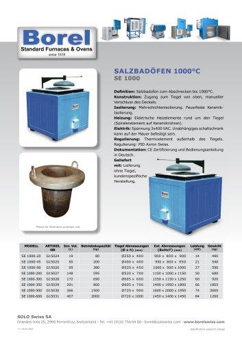 Salzbadöfen 1000 °C - SE 1000