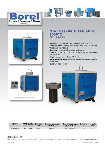Salzbadofen Cube 1050°C - CU 1050 SE