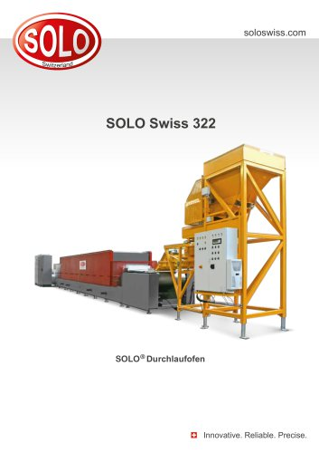SOLO Swiss 322 SOLO®Durchlaufofen
