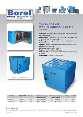 Thermodryer Wärmeschrank 350°C - TR350