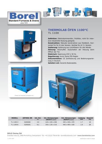 Thermolab Öfen 1100 °C - TL 1100