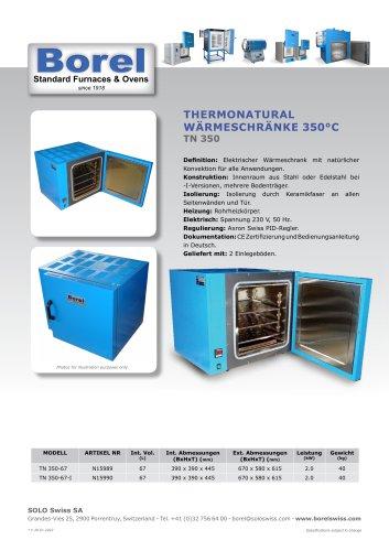 Thermonatural Wärmeschrank 350 °C - TN350