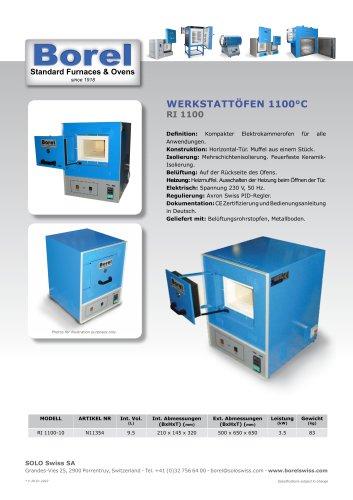 Werkstattöfen 1100°C - RI 1100