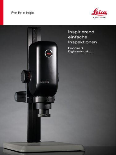 Inspirierend einfache Inspektionen - Emspira 3 Digitalmikroskop