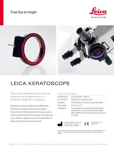 Keratoscope