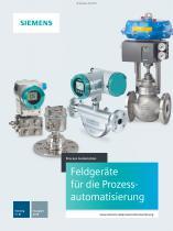Katalog FI01 Feldgeräte für die Prozessautomation 2017