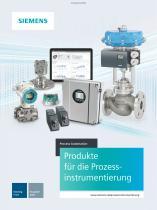 Produkte für die Prozessinstrumentierung