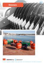 Skimmer against water pollution