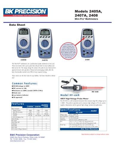 40kV High Voltage Probe Meter
