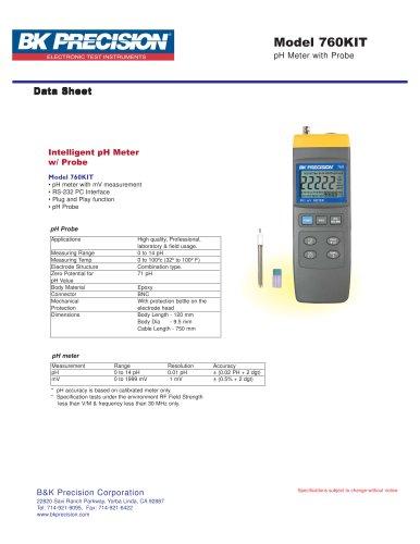 Intelligent pH Meter with pH Probe