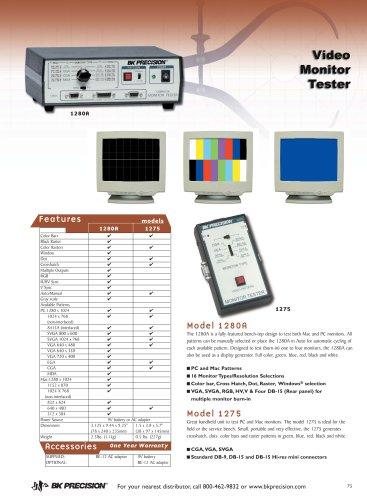 Portable Video Pattern Generator