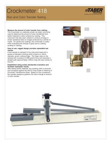 Crockmeter