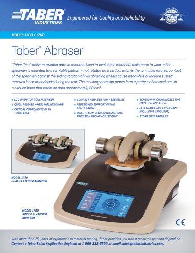 Taber®  Abraser  MODEL 1700 / 1750