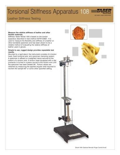 Torsional Stiffness Apparatus