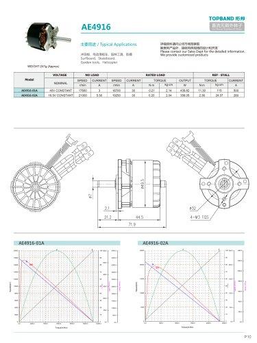 TOPBAND-Brushless DC MOTOR-AE4916