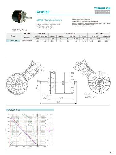 TOPBAND-Brushless DC MOTOR-AE4930