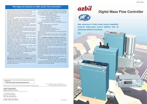 Digital Mass Flow Controller