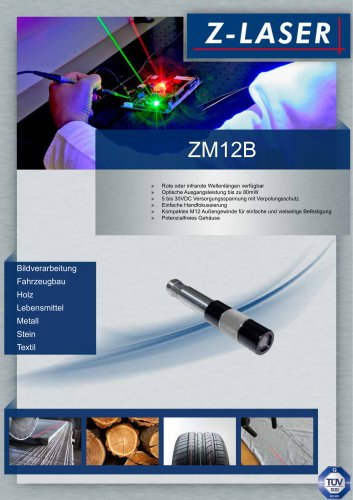 Lasermodul ZM12B