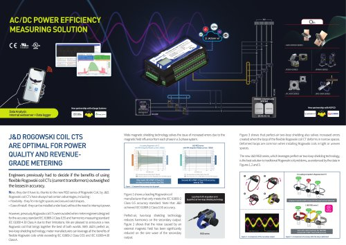 AC/DC POWER EFFICIENCY MEASURING SOLUTION