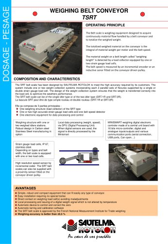 Weighing Belt Conveyor