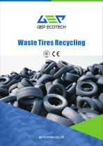 Intelligent tire recycling shredding machine overall solution